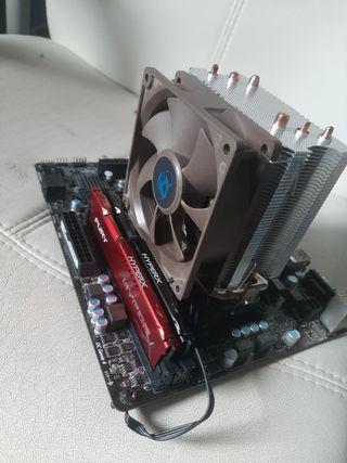Placa base MSI Procesador AMD Ram Hyperx