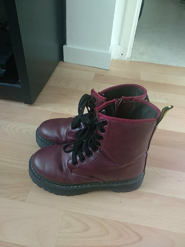chaussures style Dr.martens