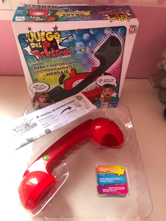 Juego del telefono