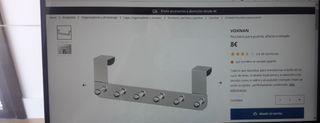 Perchero de puerta de Ikea