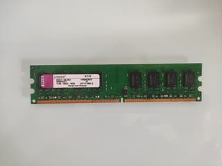 MEMORIA RAM 2GB KINGSTON