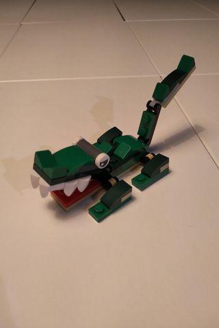 Cocodrilo Lego Creator