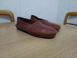 zapato cuero Himalaya, mocasin