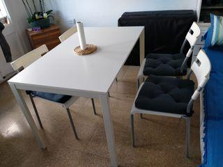 Oferta mesa con 4 sillas