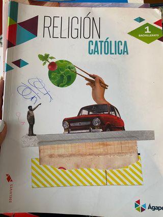 Libro Religión Católica 1°Bachillerato