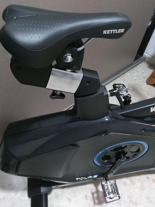bicicleta estática ketler tour s