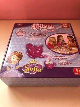 Juego la tetera mágica de Sofia