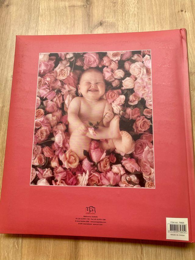 Álbum fotos Anne Geddes 40x40 con 30 paginas
