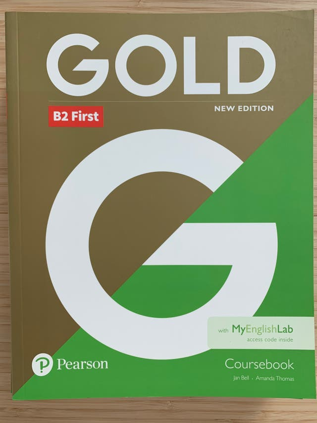 Libro de texto - Inglés - Pearson Gold - B2 First