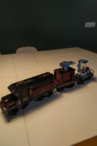 Tren Fantasma Lego Hidden Side