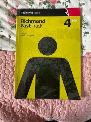 Richmond. Libro inglés 4° de ESO.