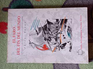 """Libro """"El faro del fin del mundo"""" de Julio Verne"""