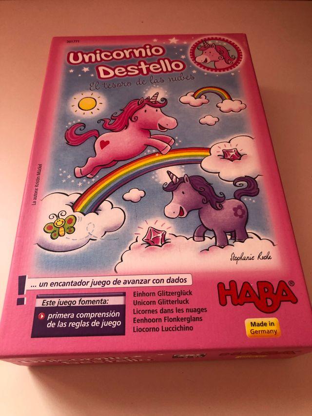 Juego unicornio destello