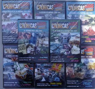 CRONICAS DE LA II GUERRA MUNDIAL 8 DVDS
