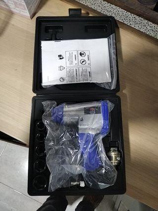 Pistola neumatica cuadrante de media pulgada