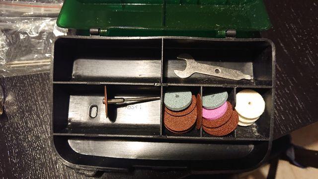 Mini taladro para grabado y modelismo