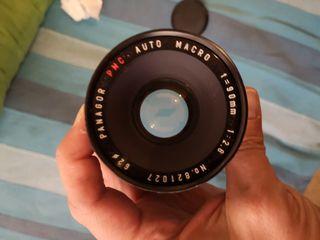 Objetivo Panagor 90 2.8 macro para Canon EF y EF-S