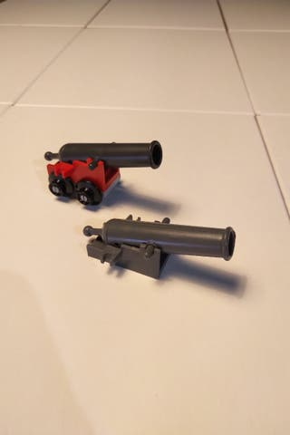 Cañones Lego