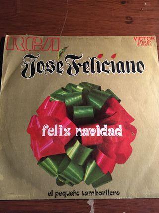 """single 7"""" JOSE FELICIANO - feliz navidad"""