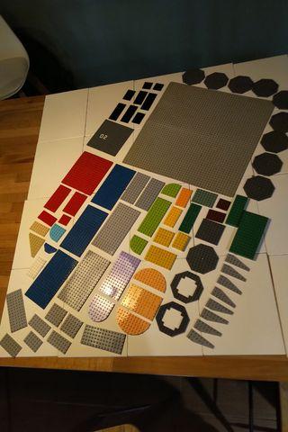 Placas Base Lego