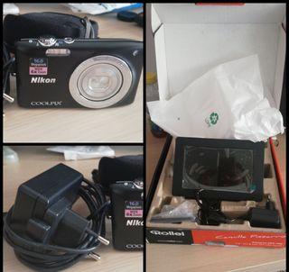 Marco digital y cámara de fotos
