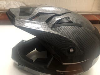 vendo casco enduro -super motard