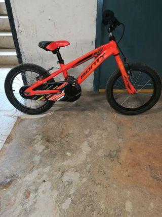 Bicicleta para niño, Monty