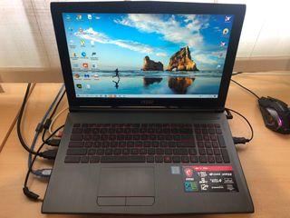 Vendo ordenador portatil gaming i7 MSI GV62 7RE