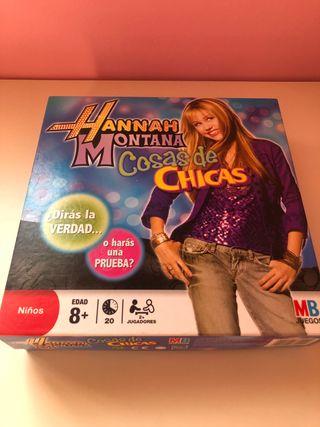 Juego Hannah Montana