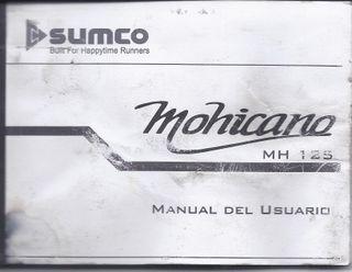 Manual usuario Sumco Mohicano 125