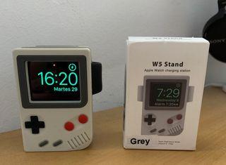 Estacion de carga APPLE WATCH, Game Boy, NUEVA