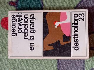 """Libro """"Rebelión en la granja"""" de George Orwell"""