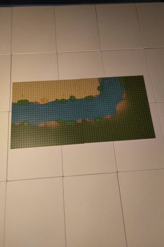 Placas Base Rio Lego
