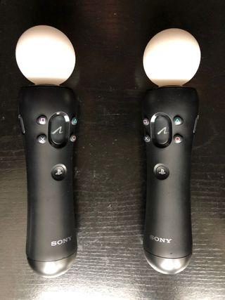 Pack 2 mandos Move PS3/PS4