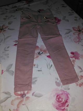 pantalón pitillo elástico
