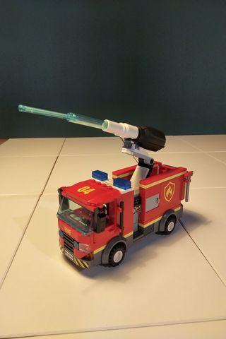 Camión Bomberos Lego