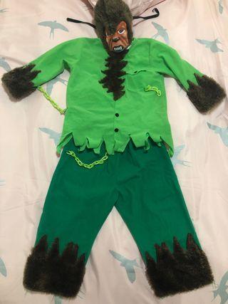 Disfraz de niño hombre lobo (talla 2 años)