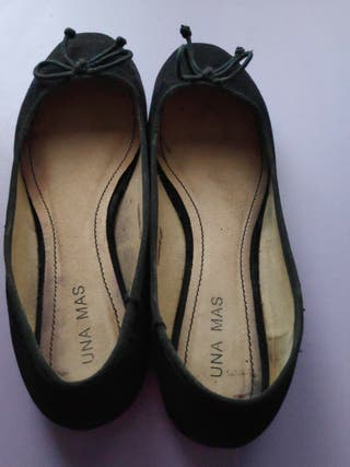 Bailarinas/manoletinas negras