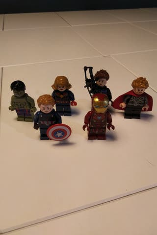 Figuras Avengers Lego