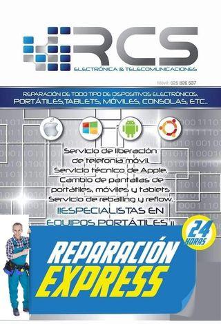 reparar movil, tablet, portatil, ordenador