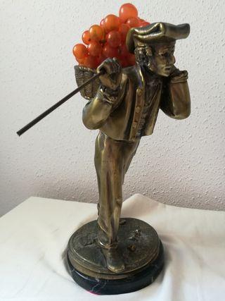 Figura De Bronce Antiguo