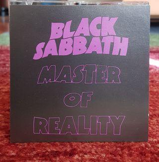 Black Sabbath Master of reality cd.