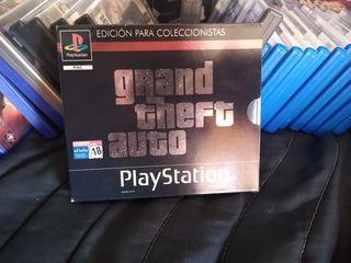 GTA edición coleccionista PS1 PSX