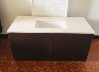 Lavabo+encimera silestone + mueble