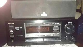 Amplificador ONKIO TX-DS575X, altavoces 5.1 MAGNAT