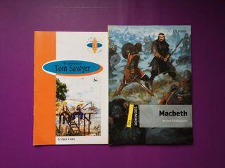 Libros de lectura: Lengua Inglesa