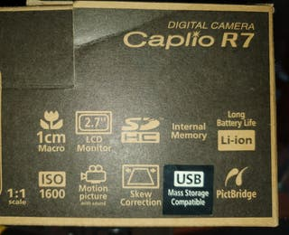 camara digital ricoh caplio R7