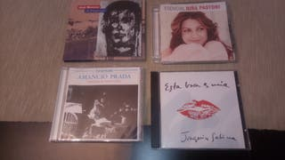 4 CD'S ORIGINALES