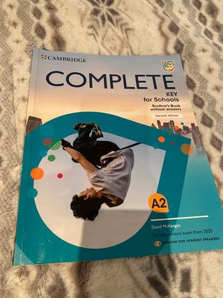 Libro inglés Cambridge nivel A2