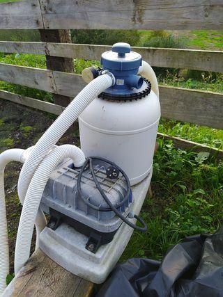 2 depuradora con bomba para piscinas